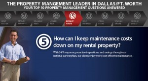 How Can I Keep Maintanance Costs Down On My Dallas Rental Property