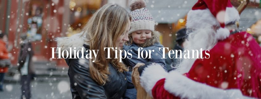 Holiday Tips for Tenants