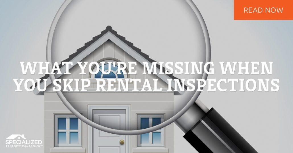 rental property management dallas tx why inspections