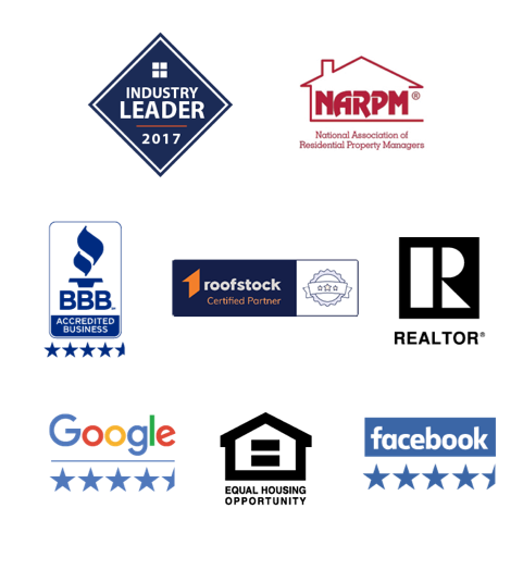 Specialized Property Management certification icons